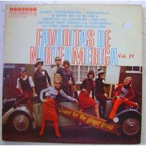 Favoritas De Norteamerica Vol. Iv 1 Disco Lp Vinilo