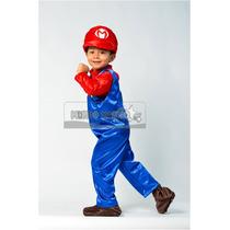 Disfraz Estilo Mario Bros
