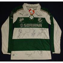 Jersey Autografiado Firmado Santos Laguna Puma 30 Años Oribe