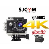 Sj5000 Sj5000x Sjcam Elite Original 4k Pila Gratis Wifi Msi