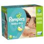 Pampers Baby Dry Pañales Economía Paquete Plus, Tamaño 4, 18