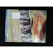 Fast & Furious Rapido Y Furioso 6 Bluray Dvd Steelbook Nuevo