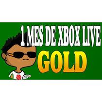 Cuenta Nueva Con 1 Mes Xbox Live Gold Y Cod Black Ops 3 Y 1