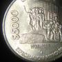 Moneda 5000 Pesos 1988 Expropiacion Petrolera Niquel