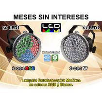 Steelpro Luz Estroboscopica Cañon 62 Led Rgb Y Blanco, 10w.