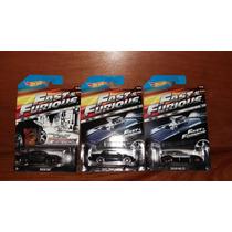 Hot Wheels Rapido Y Furioso 2015 Fast & Furious Piezas 5 6 7