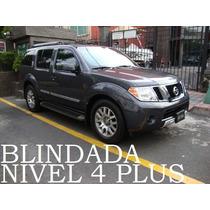 Pathfinder 2012 4x4 Blindada Nivel 4 Plus Alta Seguridad!!