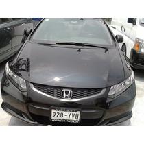 Honda Civic Coupe Automatico 2013 Negro Llantas Nuevas