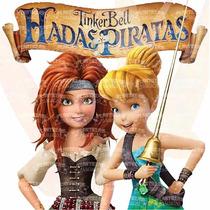 Kit Imprimible Editable Tinkerbell Hadas Y Piratas A Credito