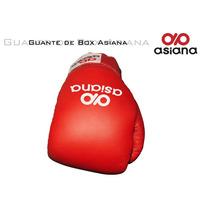 Guante Boxeo Asiana Equipo Entrenamiento Mas Seguro Rojo M