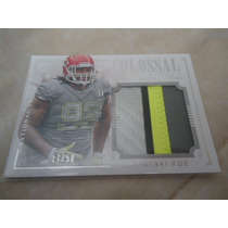 2014 National Treasures Pro Bowl Jersey Dontari Poe /50