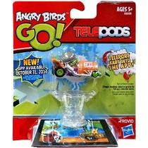 Angry Birds Go! Telepods Kart Verde Cerdo Con Casco