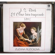 El Clave Bien Temperado Libro 1 Lp Bach Zuzana Ruzickova