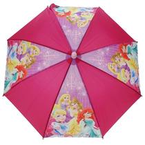 Disney Princess Paraguas - Impermeable Estupendo Abrir Y Cer