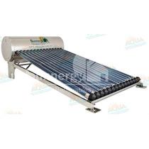 Calentador Solar 15 Tubos Inox. Sin Subir Tinaco 12 Meses Si