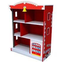 Kidkraft Biblioteca Del Parque De Bomberos