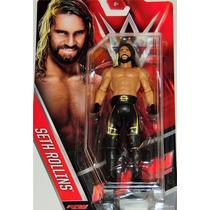 Wwe Figura De Seth Rollins Serie Basica Mattel