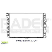Radiador Volkswagen Pointer2000-2001-2002 L4 1.8l S/aire Std
