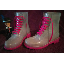 Botas Lluvia Tipo Jelly Boots.