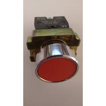 Boton Pulsador Rojo 22mm