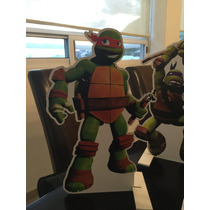 Figuras Tortugas Ninja Piñatas Decoración