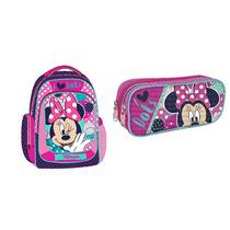 Kit Mochila Y Lapicera Disney Minnie Mouse