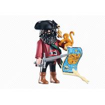 Playmobil 6433 Capitan Pirata Barco Medieval Add On Retromex