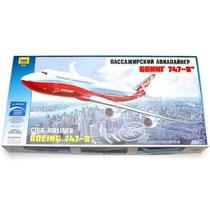 Avion Zvezda Boeing 747 - 800 1/144 Armar / Revell Tamiya