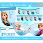 Kit Imprimible Frozen - Decoraciones, Cajitas E Invitaciones