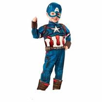 Disfraz Avengers 2 Ultron Capitan America 2/4 Años Entrega I