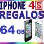 Celular Iphone 4s 64gb Original + Regalos (la Mejor Opción)