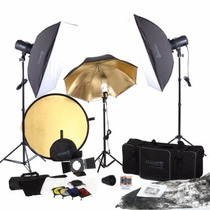 Kit De Iluminacion Equipo Fotografico Square Perfect Sp3500