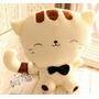 Plush Face Cat Peluche Gato Almohada Pusheen 45 Cm Animecun