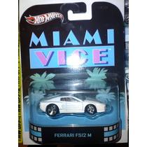 Hot Wheels Retro Ferrari F512 M Miami Vice
