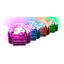 Kit 4 Esferas Led Crystal Magic Ball Rgbwap Antrolite