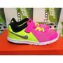Tenis Casuales 100% Originales Nike Flex De Niña Autenticos
