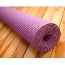Tapete Mat Yoga Pilates Antiderrapante Pvc Larga Duracion