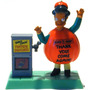 Simpsons Apu Spooky Lights Up Figura Nueva Burger King Mn4