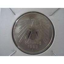 Moneda Alemania 5 Marcos De 1983