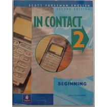 Libro De Ingles In Contact 2 Intro Book/notebook (usado)
