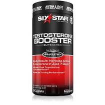 Six Star Testosterona Booster Cápsulas 60 Ea