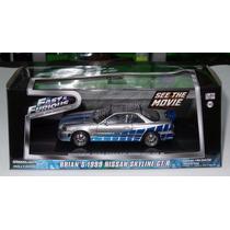 1:43 Nissan Skyline R-34 Brian Rapido Y Furioso Greenlight