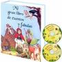 Libro De Cuentos Y Fabulas 1 Tomo + 1 Cd Audio + 1 Cd Rom