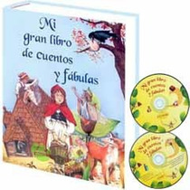Libro De Cuentos Y Fabulas 1 Tomo + 1 Cd Audio + 1 Cd Rom