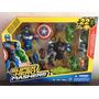 Marvel Super Hero Mashers Fusion Avengers Capitán América Ha