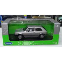 1:18 Volkswagen Golf Gti A1 1983 Plata Welly Caribe