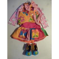 Disfraz Payasita Para 1 Año Fiestas Carnavales