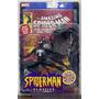 Figura De Marvel Spiderman Classics Black Costume Con Comic