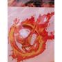 Calcomonia The Hunger Games Burning Mocking Jay Movie