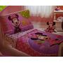 Disney Minnie Mouse 4 Piezas De Ropa De Cama Del Niño; Juego